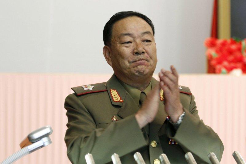 遭處決的北韓前國防部長玄永哲( 美聯社)