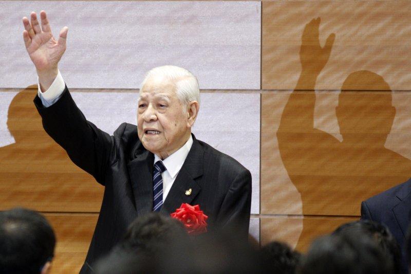 李登輝前總統將於九月發表新書《新.台灣的主張》(資料照/美聯社)