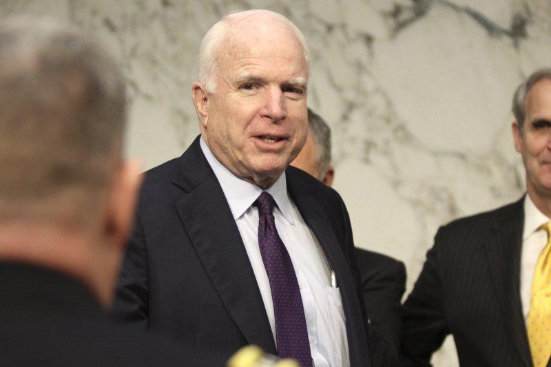 馬侃(John McCain)(美聯社)