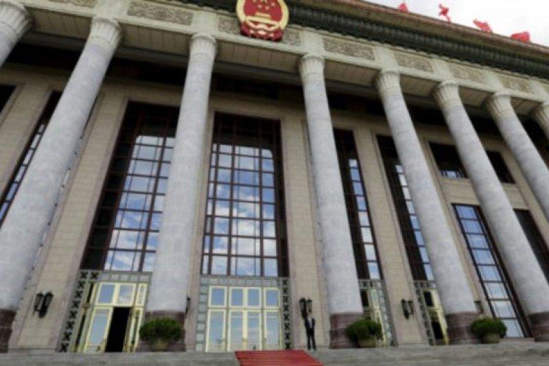 今年7月1日,中國的全國人大常委會通過《國家安全法》。(BBC中文網)