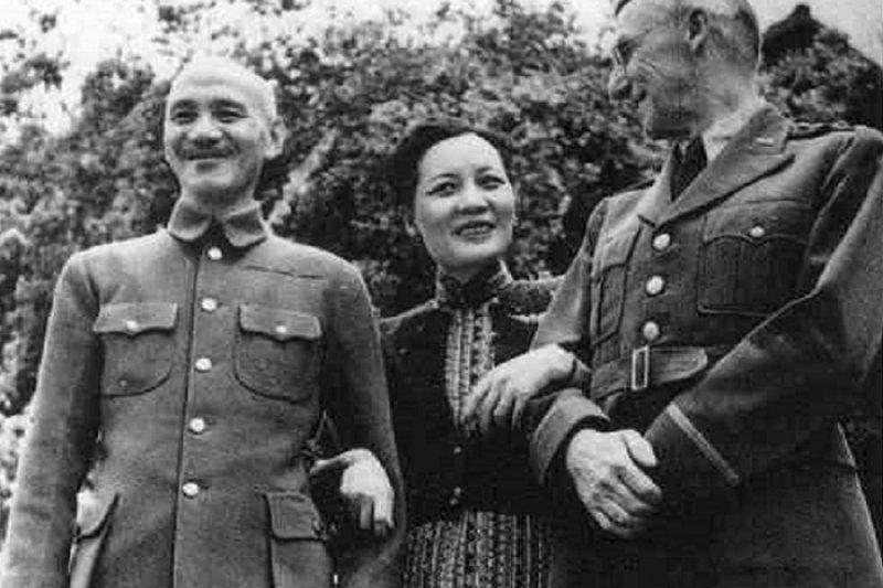 史迪威和蔣介石完全不能相處。(騰訊歷史)