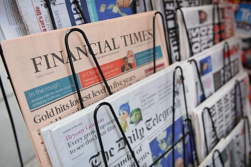 日本經濟新聞社23日以新台幣410億元收購《金融時報》。(美聯社)