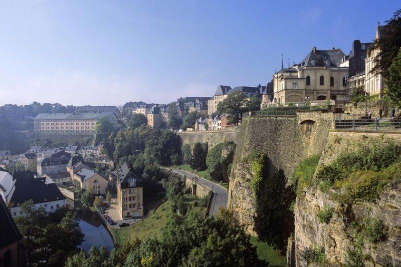 盧森堡市的舊城區為聯合國UNESCO的世界遺產之一。(盧森堡旅遊居官網)