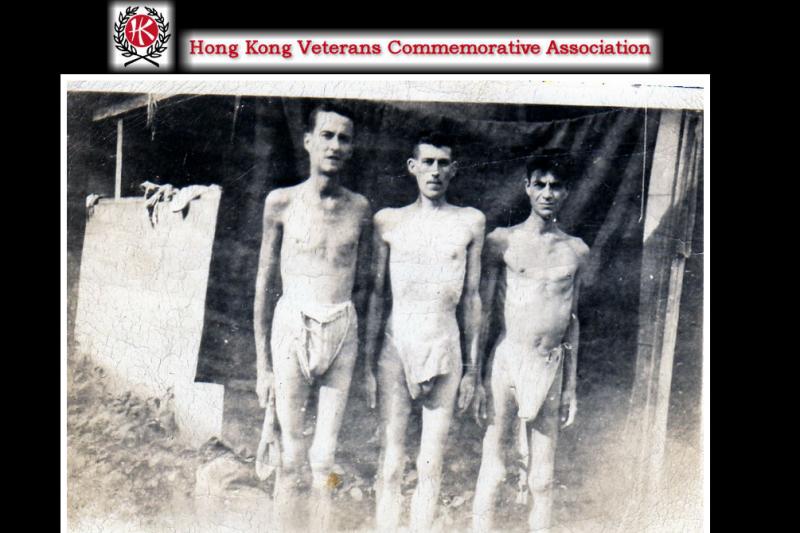 二戰時被日軍俘虜的軍人。(取自HKVCA)