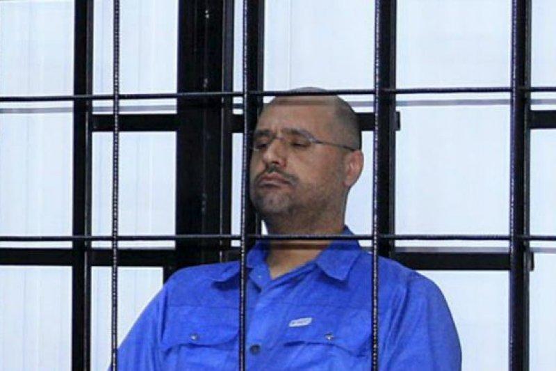 賽義夫·伊斯蘭·格達費原先最被看好接班,但是該國的革命推翻了格達費政權。(BBC中文網)