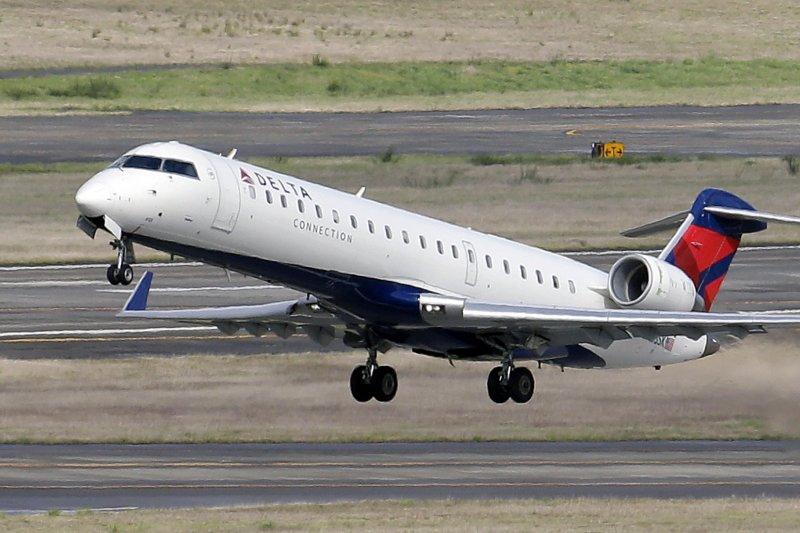 美國達美航空(Delta Air Lines)中文官網中,將台灣、西藏都與中國並列在「國家」選項中,遭《環球時報》批評。(資料照,美聯社)