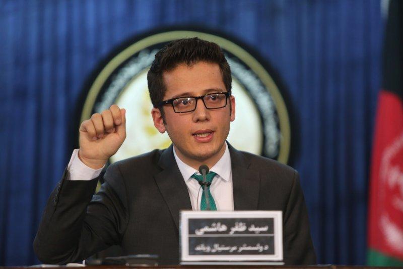 阿富汗總統府副發言人哈希米(Zafar Hashemi)。