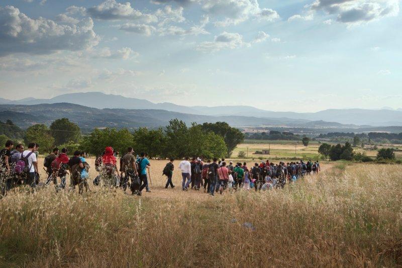 6000萬名流離失所的難民已是國際議題,無國界醫生除在世界各地展開救援行動,呼籲各國政府一起尋求符合人道原則的解決方案。(Alessandro Penso)
