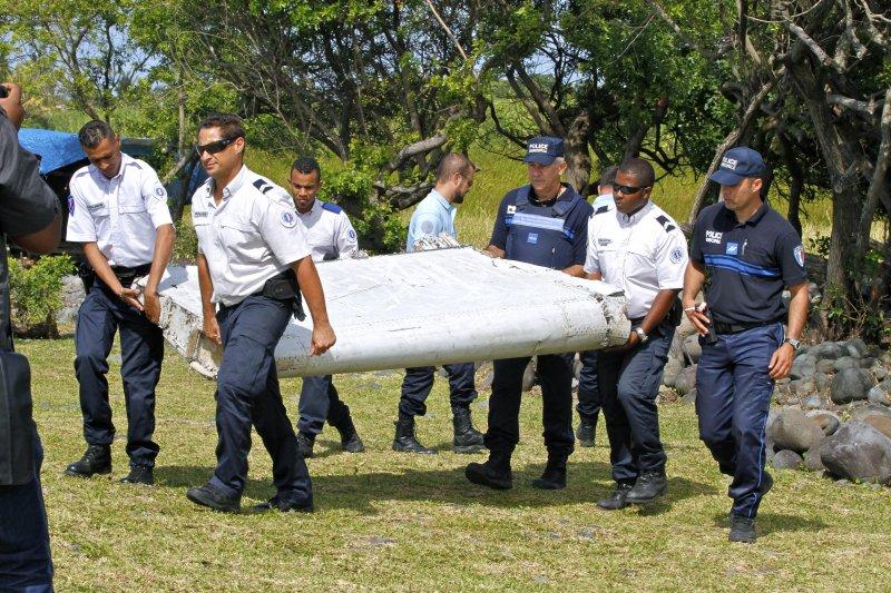 馬來西亞航空MH370班機疑似殘骸(美聯社)