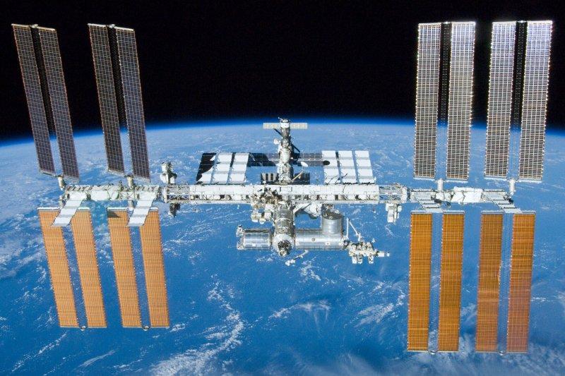 國際太空站。