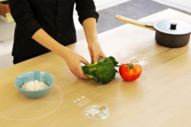 IKEA推出十年後的未來廚房(圖/IKEA)
