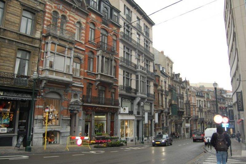 布魯塞爾街景。(圖片來源:snipview.com)
