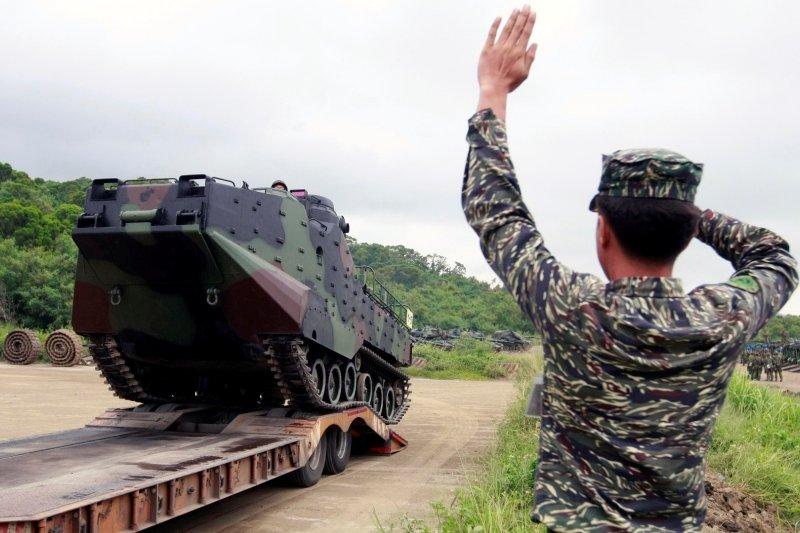 蘇迪勒颱風來襲,軍方做好因應準備(軍聞社)