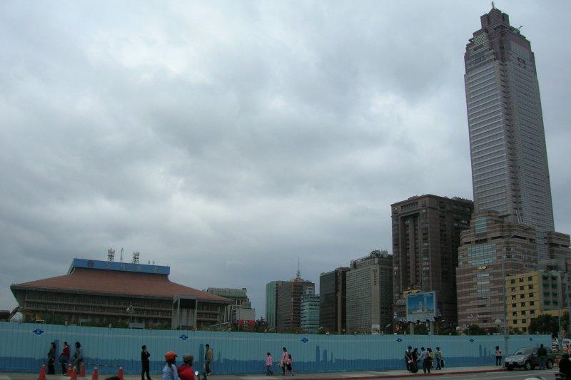台北雙子星大樓預定地(Bigmorr,維基百科)