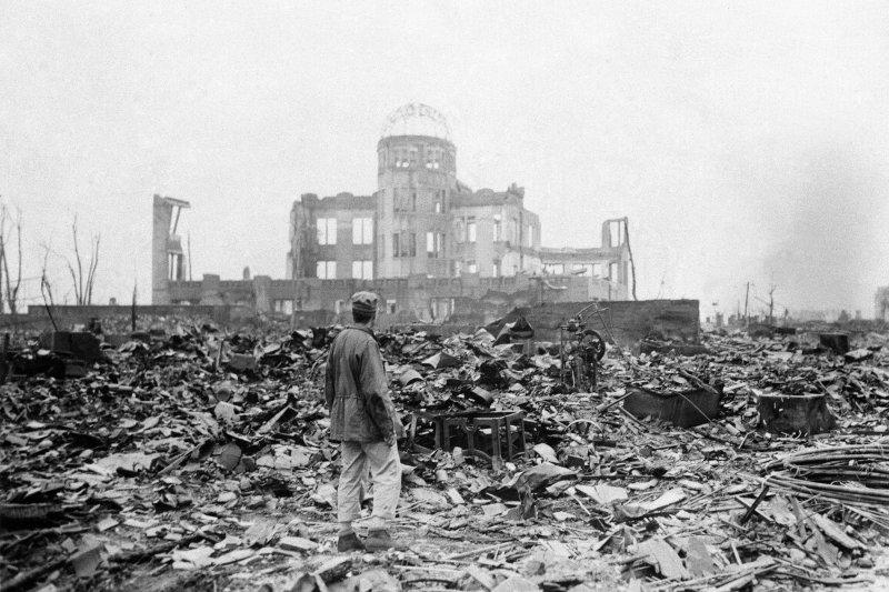 廣島原爆後,倖存者飽受身心苦痛。(美聯社)