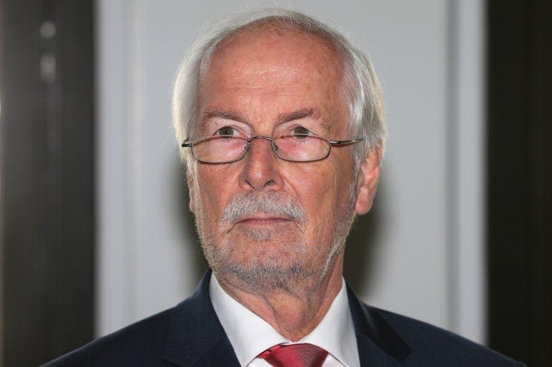 遭到開革的德國檢察總長蘭格(Harald Range)(美聯社)