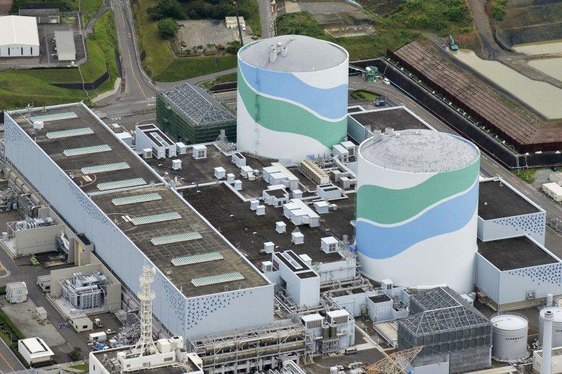 位於日本九州鹿兒島縣薩摩川內市的川內核電廠將在11日重新啟動。(美聯社)