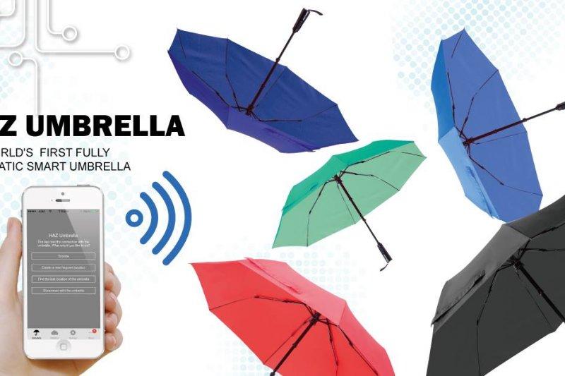 HAZUmbrella 每支雨傘都有了自己的主人