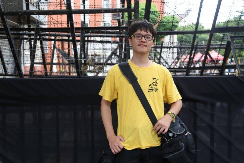 師大大傳所學生、獨立記者林雨佑(照片提供/林雨佑)