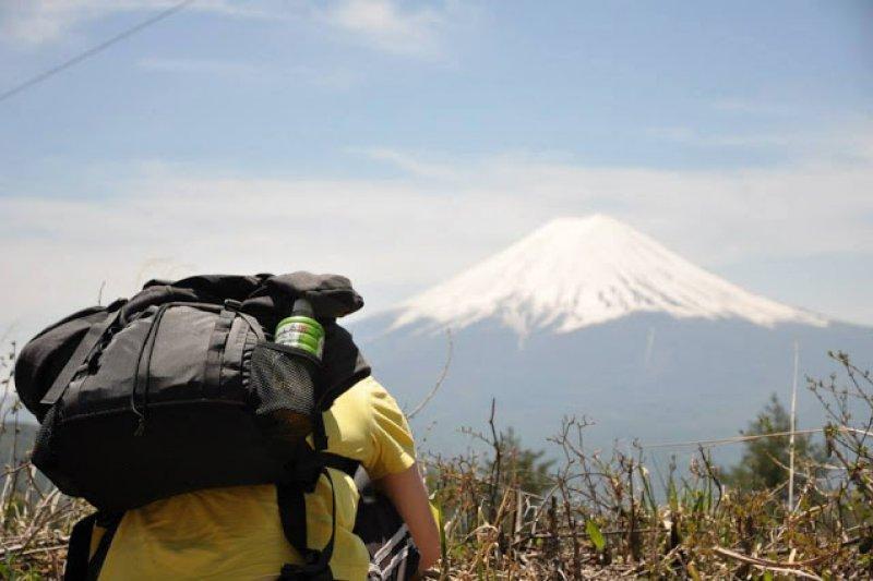 從繁重的日本動畫業工作卸任之後,踏上背包客旅程重新認識自己錯過五年的日本(圖/Simon提供)