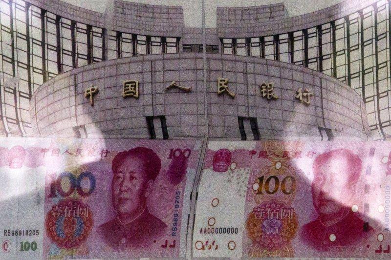 人民幣匯率連日大幅貶值,引發國際金融市場大地震。(美聯社)