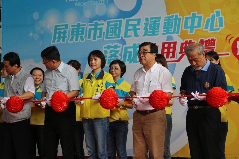 屏東市長林亞蒓(左三)。(取自屏東市長林亞蒓臉書)