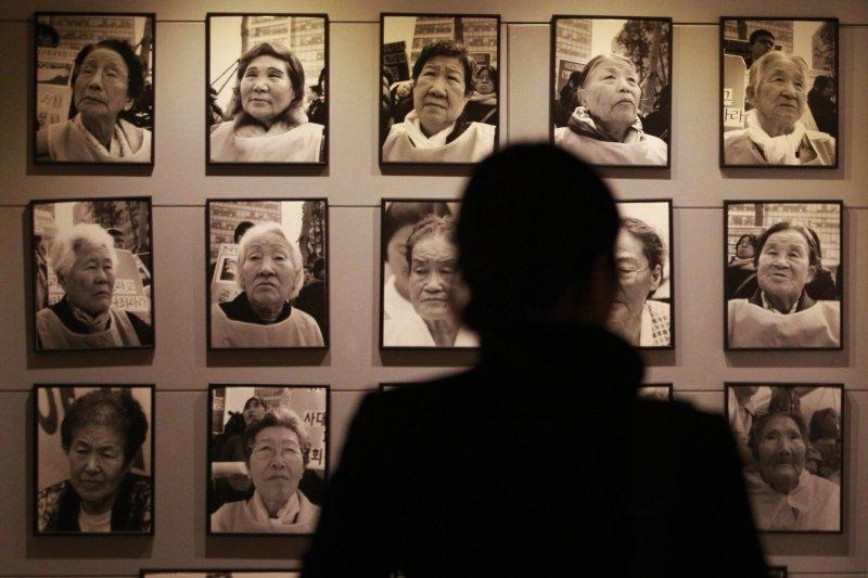 南韓的慰安婦紀念館(美聯社)