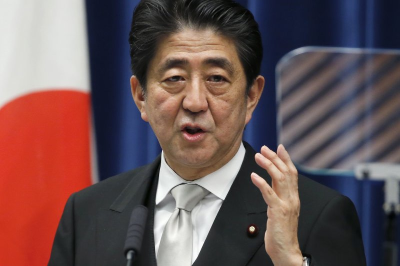 日本首相安倍晉三(美聯社)