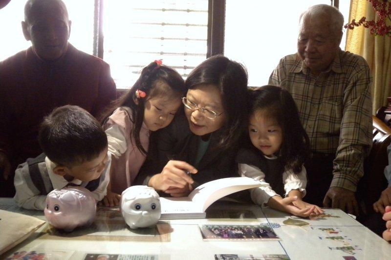 蔡英文三隻小豬募款活動,2012年掀起巨大迴響(取自點亮台灣網站)
