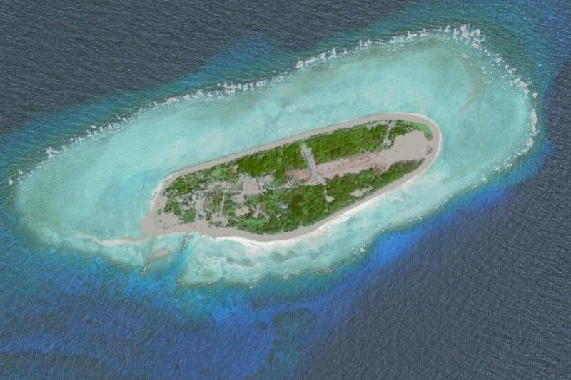 海牙常設仲裁法院12日對南海爭議做出仲裁,認為我國太平島為「礁」。(取自網路)