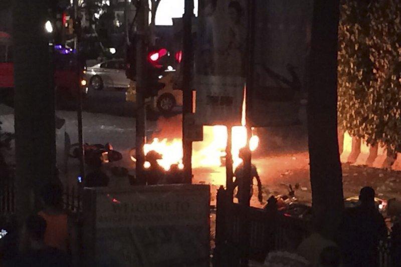 曼谷爆炸案(美聯社)