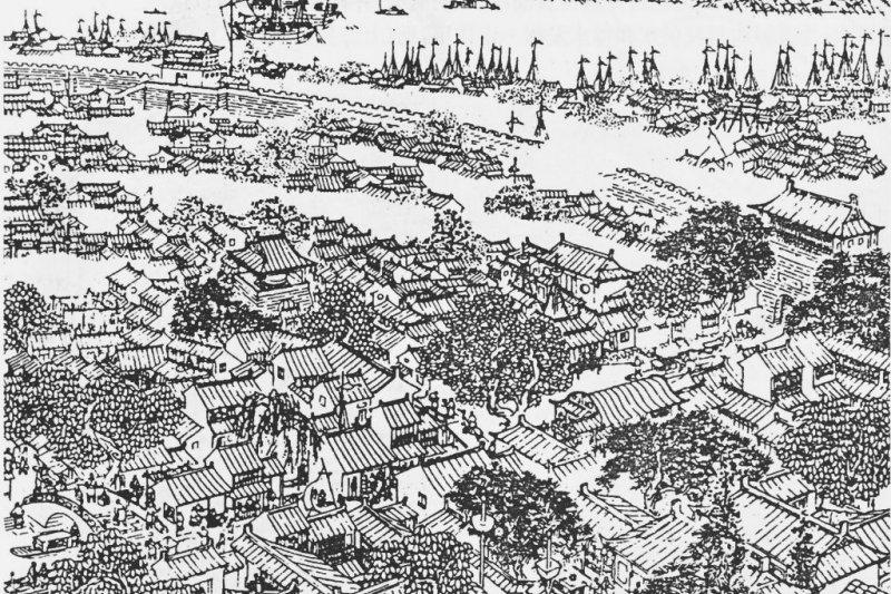 明代上海(維基百科)