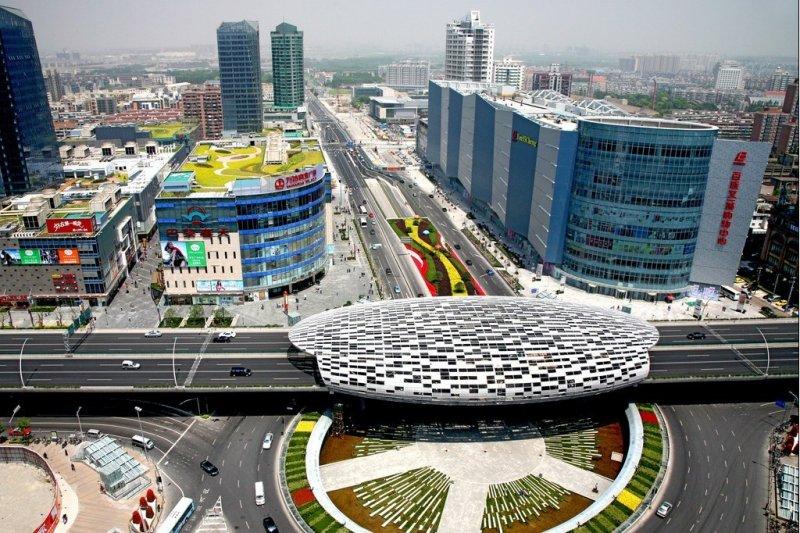 上海五角場商圈(維基百科)