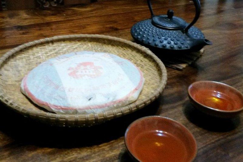 普洱茶的滋味濃釅久遠。(作者提供)