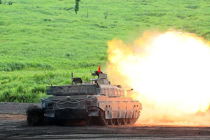 10式戰車。