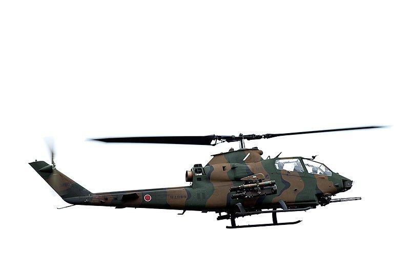 富士重工生產的AH-1S眼鏡蛇直升機。