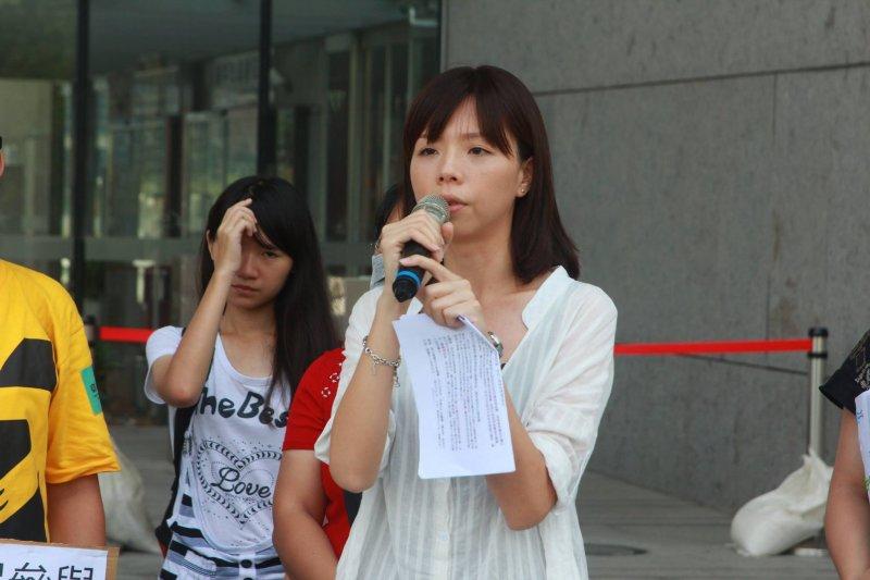 時代力量台中市立委第三選區提名人洪慈庸於臉書發文,表示對阿帕契案的結果感到遺憾。(取自洪慈庸臉書)