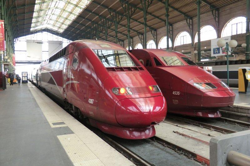 Thalys高鐵。