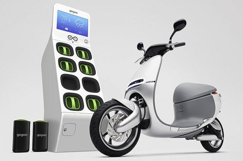 經濟部工業局官員今(5)日透露,Gogoro最快下個月就會推出訂價7萬元上下的平價車款。(資料照,取自Gogoro網站)