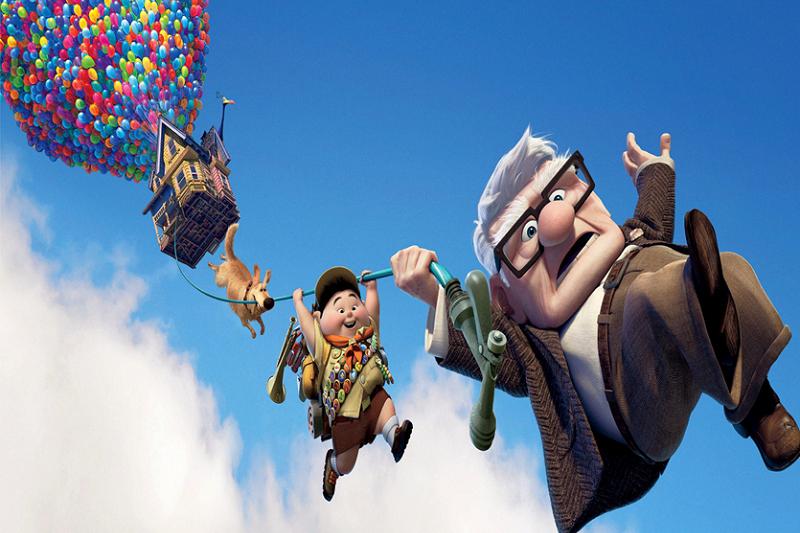 Pixar 動畫電影《天外奇蹟》劇照。
