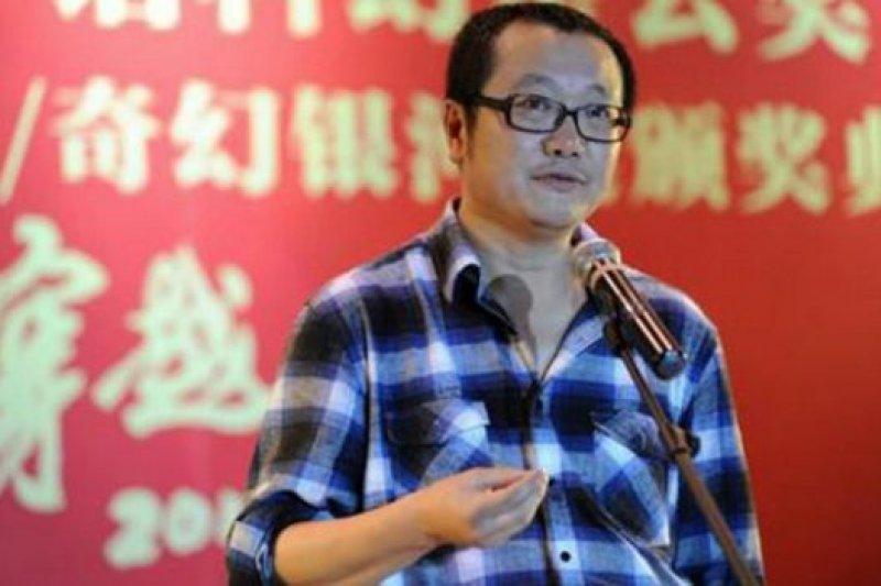 劉慈欣是目前中國最有影響力的本土科幻作家之一。(BBC中文網)