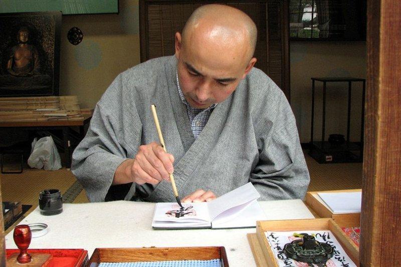 漢字文化最能代表東亞文化,在中國叫書法,在日本叫書道(Flickr user MShades/維基百科)