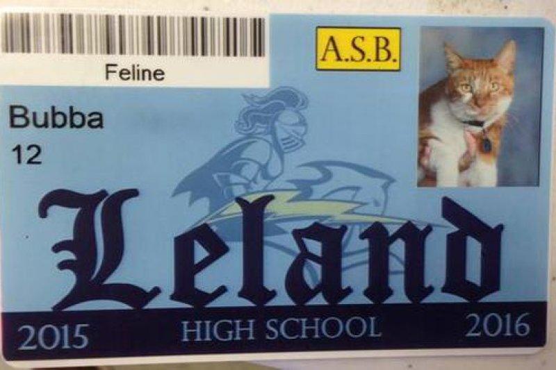 布巴正式成為利蘭高中的學生。(取自臉書)