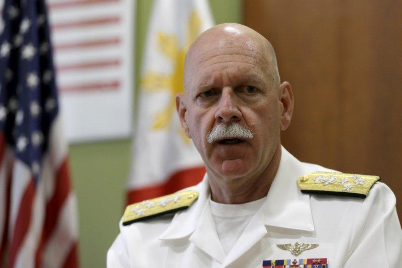 太平洋艦隊司令史考特•史威夫特上將(Admiral Scott Swift)(美聯社)