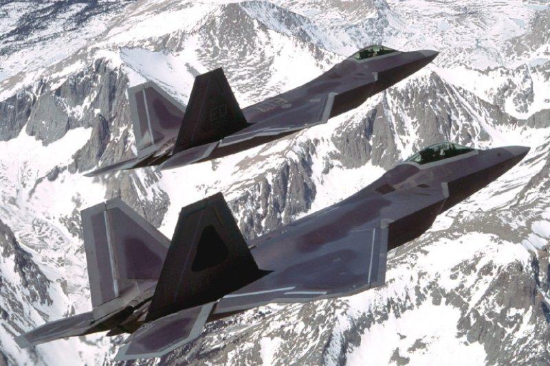 F-22。(美國空軍網站)