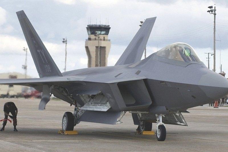 F-22。(美國海軍網站)