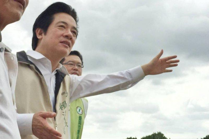 台南市長賴清德於《天下雜誌》調查中施政滿意度奪冠。(取自賴清德臉書)