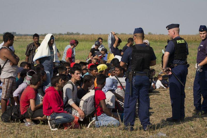 歐洲移民危機(美聯社)