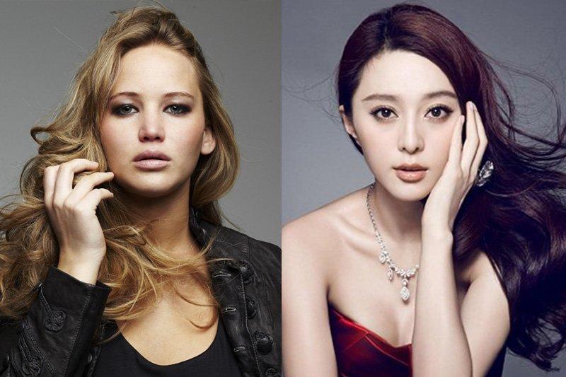富比世雜誌公佈2015年全球女星收入日排行榜,奧斯卡影后珍妮佛勞倫斯(Jennifer Lawrence)以5200萬美金榮登排行榜之首,范冰冰以2100萬美金,排名第4。(取自網路)
