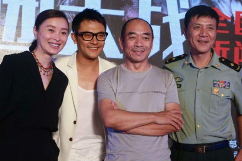 《百團大戰》首映會上周於北京舉行。(BBC中文網)